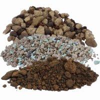 Substrat für Erdpflanzen, Kakteeen + Sukkulenten