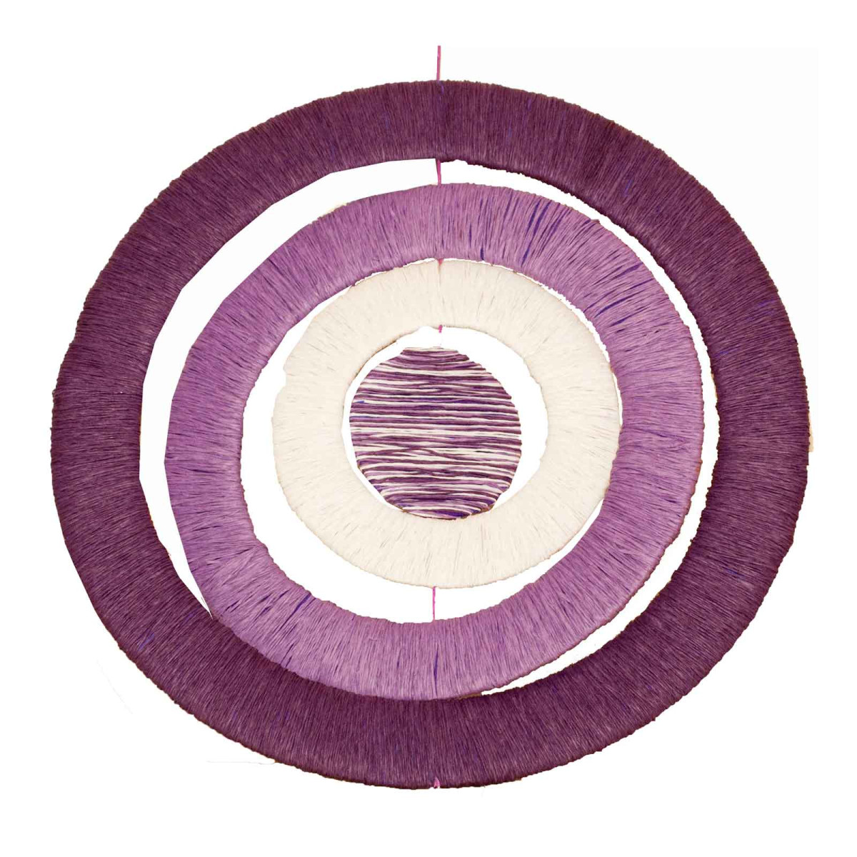 fenster deko mobile papierkordel lavendel f r ostern. Black Bedroom Furniture Sets. Home Design Ideas