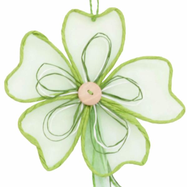 Deko Party Girlande Blume 100 cm  Farbe Apfel für Ostern Frühjahr und Herbst