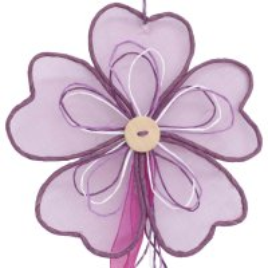 Deko Party Girlande Blume 100 cm  Farbe Lavendel für...