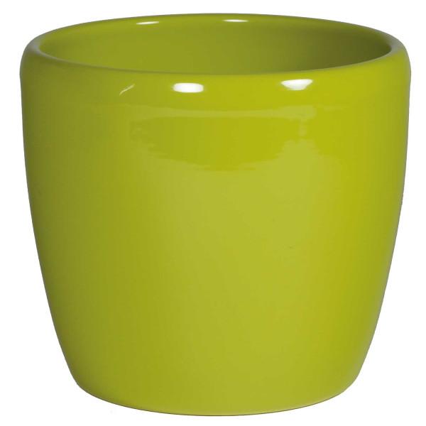 Keramik Hydro Blumentopf Venus schilfgrün