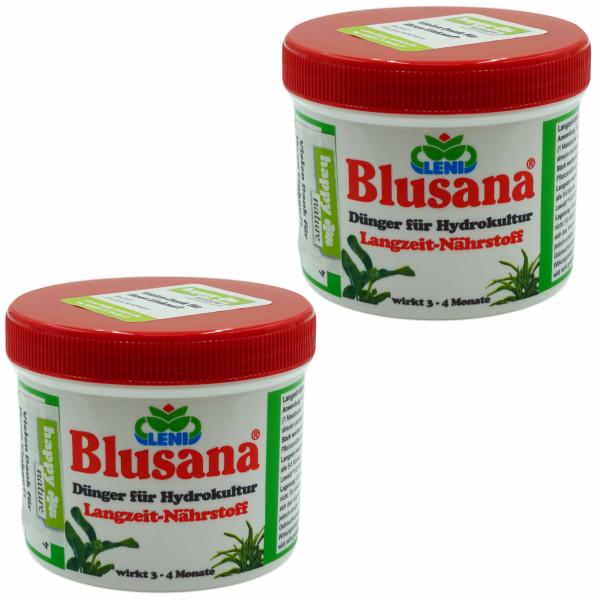 Set 2 teilig für Hydrokultur Blusana Lewatit HD 50 Dünger 200 ml