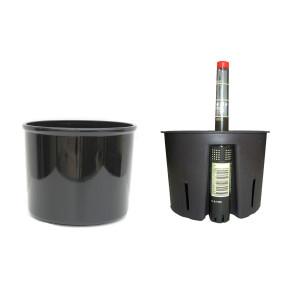 Set3 Kunststoff Hydro Blumentopf Corona...
