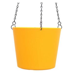 Kunststoff Ampel-Flori gelb