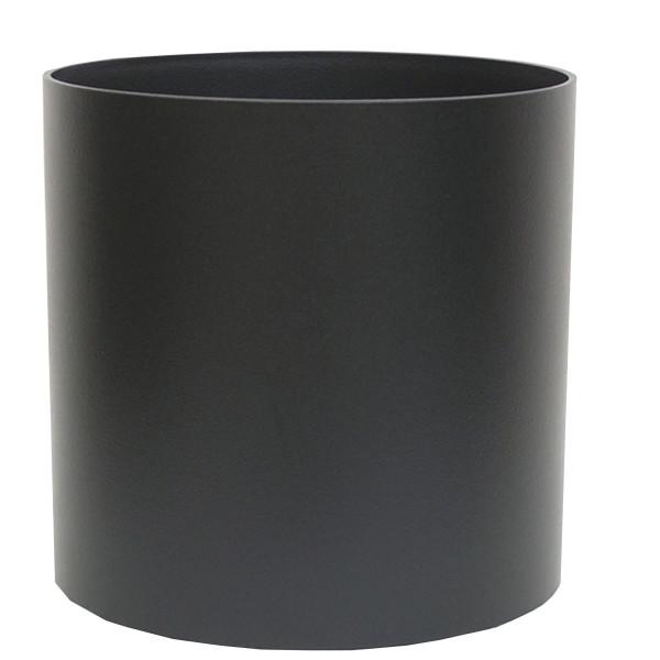 Kunststoff Hydro Blumenkübel Elegance schwarz struktur wb Rollen
