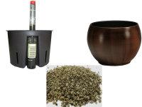 Set4 Keramik Hydro Blumentopf Bali...