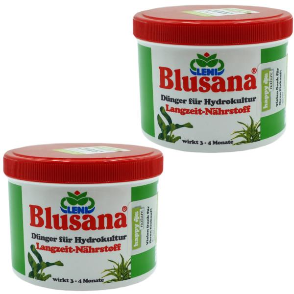 Set 2 teilig für Hydrokultur Blusana Lewatit HD 50 Dünger 500 ml
