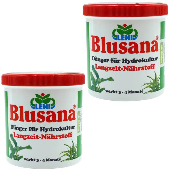 Set 2 x 800 ml Dünger für Hydrokultur Blusana Lewatit HD 50