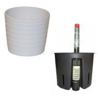 Set3 3 teilig für Hydrokultur Blumentopf Keramik...