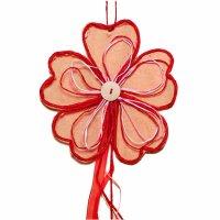 Set 2 teilig Deko Party Girlande Blume 100 cm  Farbe...