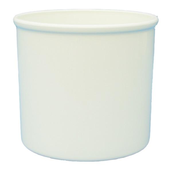 Anzucht Kunststoff Blumentopf Hydro Corona 5/5 weiß Ø 6,2 cm H 5,5 cm