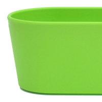 Set7 7 teilig Kunststoff Flori Pflanzschale apfelgrün für Hydrokultur