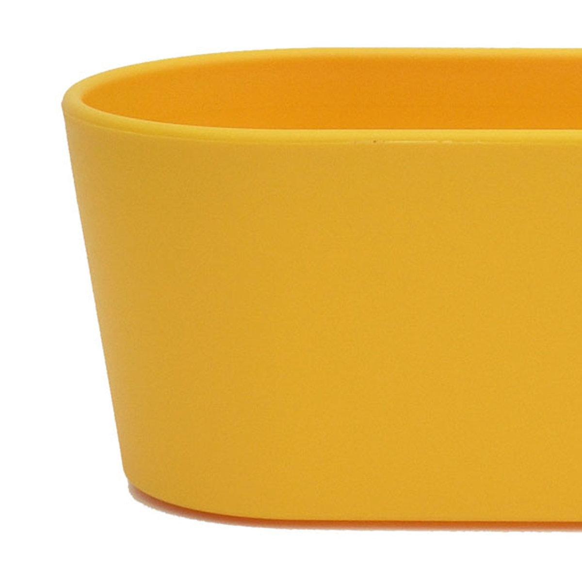 Set7 7 teilig Kunststoff Flori Pflanzschale dunkelsilber f/ür Hydrokultur L 26.5 cm B 10.0 cm H 08.0 cm