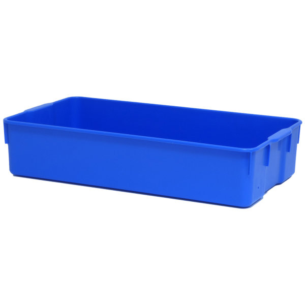 Transportschalen blau mit Ablaufloch L/B/H 56.5 x 31 x 12 cm