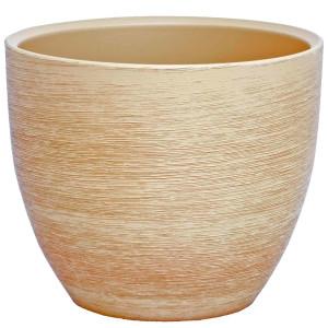 Keramik Blumentopf Pur antik sand