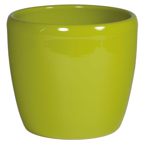 B Ware Keramik Hydro Blumentopf Venus schilfgrün