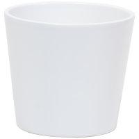 Keramik Hydro Blumentopf Vasa 11/09 weiß matt...