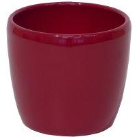 B Ware Keramik Hydro Blumentopf Venus 13/12 weinrot...