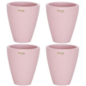 Set4 4 Keramik Blumentöpfe Rhodos für Orchideen...