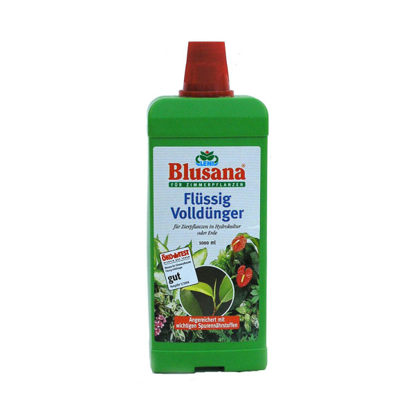 Flüssigdünger für Hydroplanzen + Erdpflanzen Blusana von Leni