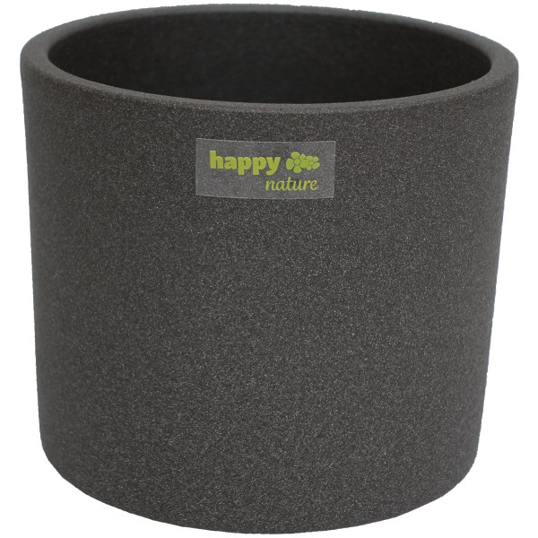 B Ware Keramik Hydro Blumentopf Madeira grau struktur