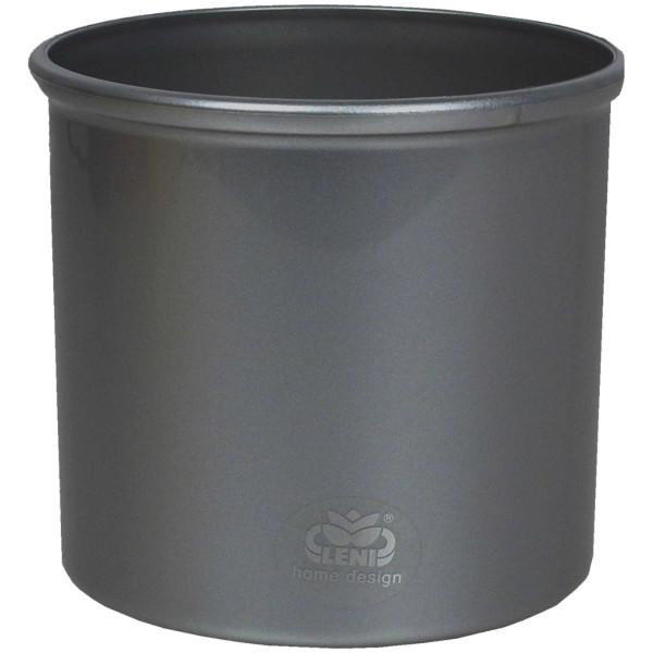 Anzucht Kunststoff Blumentopf Hydro Corona 5/5 anthrazit Ø 6,2 cm H 5,5 cm