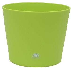 Kunststoff Blumentopf Flori Farbe apfelgrün